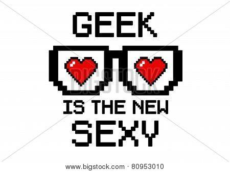 Geek Is sexy heart