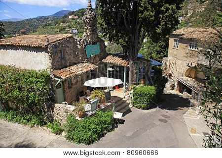 La Petite Shapelle Restaurant  In Saint Paul De Vence, France