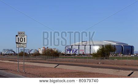 University Of Phoenix Cardinal Stadium, Az