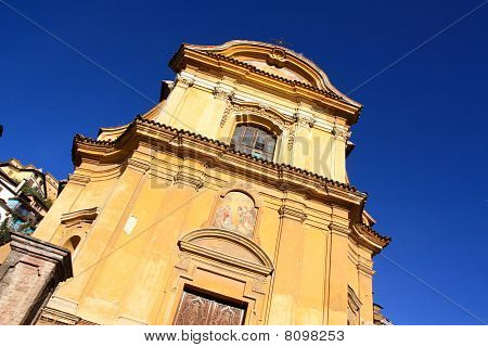 Italian Church In Canelli Italy