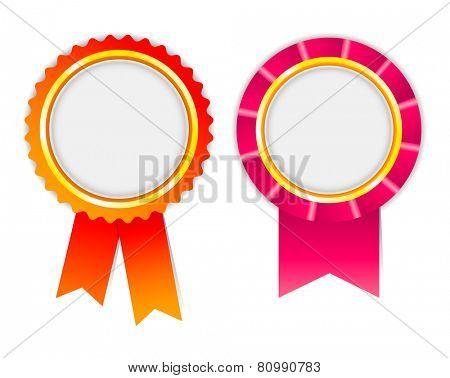 award ribbon, rosette