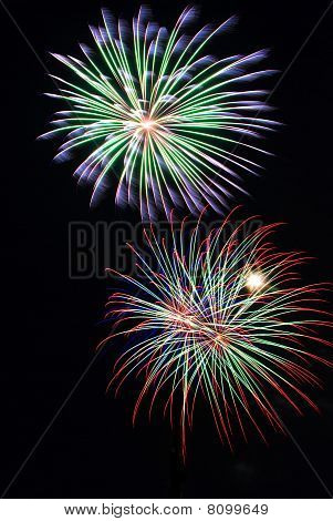 Fireworks Double Burst