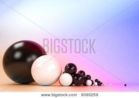 Contrast balls