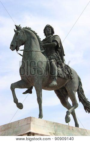 Bronze Statue Of Louis Xiv