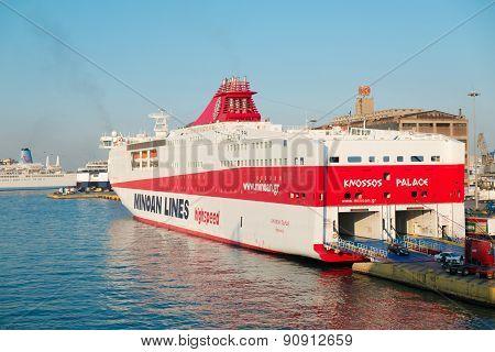 Minoan lines ferry