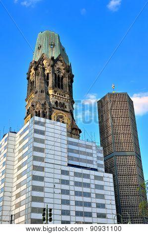 Gedachtniskirche in Berlin.