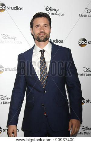 LOS ANGELES - MAY 17:  Brett Dalton at the ABC International Upfronts 2015 at the Disney Studios on May 17, 2015 in Burbank, CA