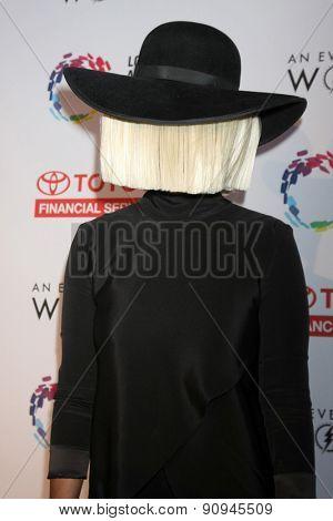 LOS ANGELES - MAY 16:  Sia at the