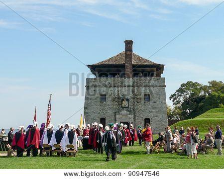 Old Fort Niagara - Historical Parade