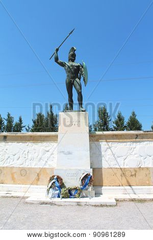 300 Spartans, Monument king Leonid