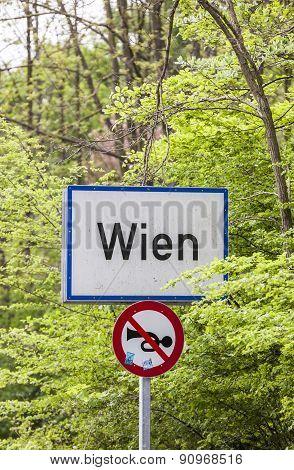 City Limit Of Vienna