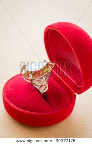 Beautiful Gem Stone Classic Jewellery Ring