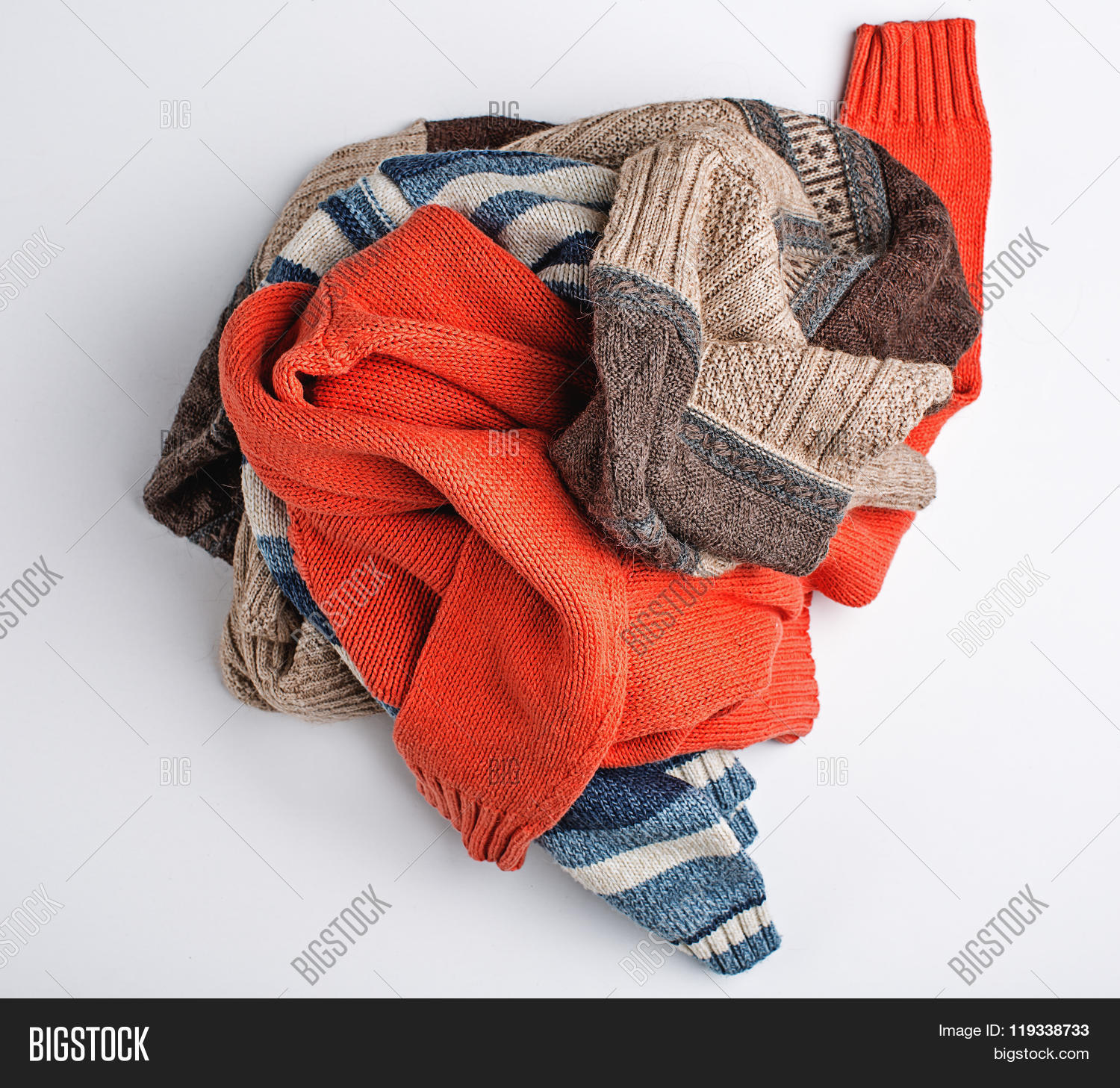 cef4a9414 Crumpled Clothes Image & Photo (Free Trial) | Bigstock