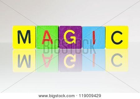 Magic - An Inscription From Children's Blocks