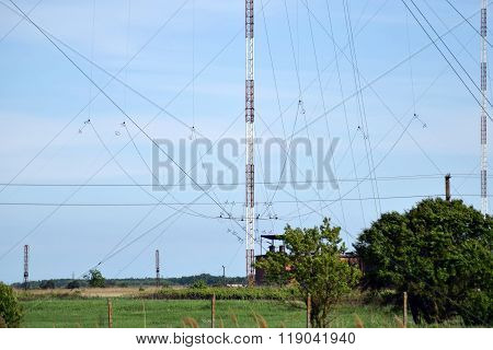 Aerial Platforms For  Transmission Of Radio Waves