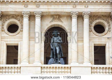 Statue of Napoleon Bonaparte, Les Invalides, Paris, France