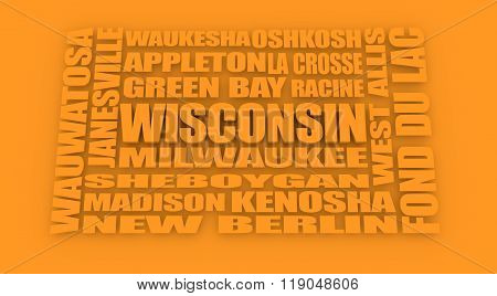 Wisconsin State Cities List