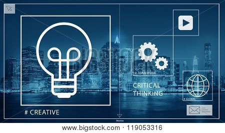 Ideas Creative Creativity Critical Thinking Inovation Concept