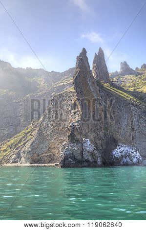 Extinct Volcano Kara Dag Mountain