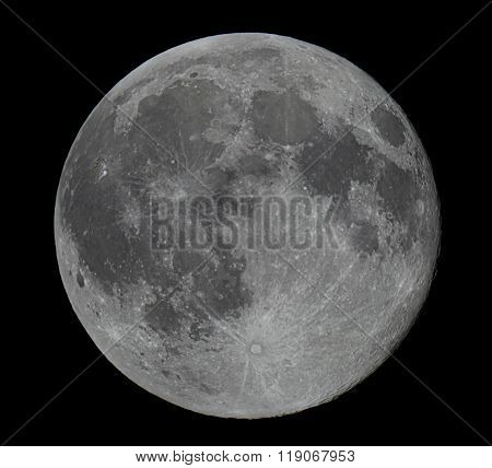 Real Full Moon Beautiful night sky