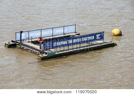 River Thames Cleaning