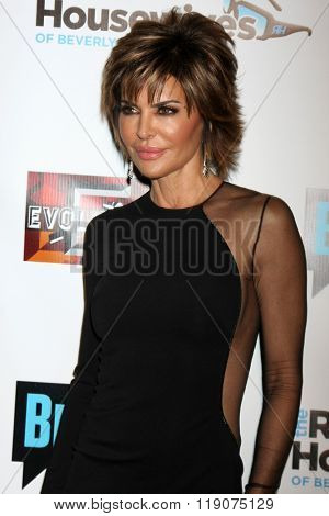 LOS ANGELES - DEC 3:  Lisa Rinna at The Real Housewives of Beverly Hills Premiere Red Carpet 2015 at the W Hotel Hollywood on December 3, 2015 in Los Angeles, CA