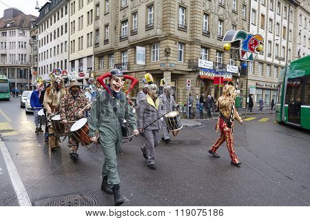 Basel (switzerland) - Carnival 2016