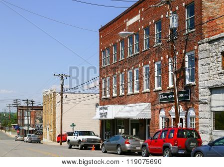 Mount Airy Brick Buildings