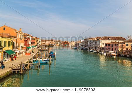 Buildings And Ports In Murano