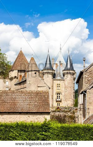 Chateau de la Clayette, Burgundy, France