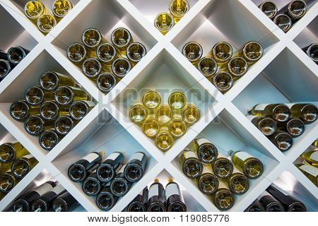 Wines Wooden Shelve