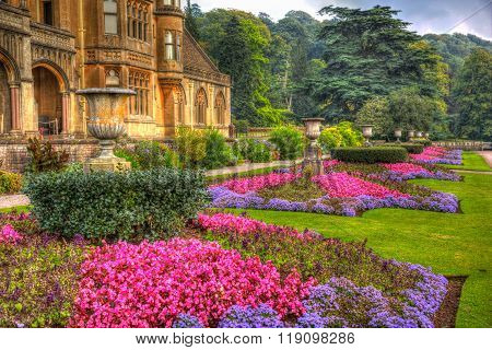 September sunshine and warm weather drew visitors to the beautiful gardens at Tyntesfield House