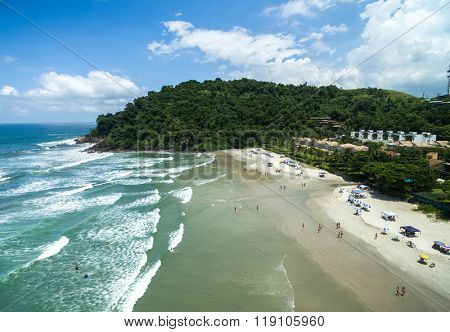 Juquehy Beach, Sao Paulo, Brazil