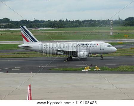 Airfrance Airbus A319 Aircraft