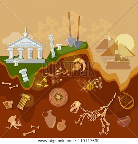 Archeology Treasure Hunters Ancient Artifacts Archaeological Excavations