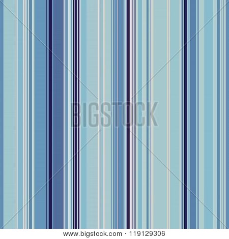 vector background, blue striped seamless pattern, verical lines