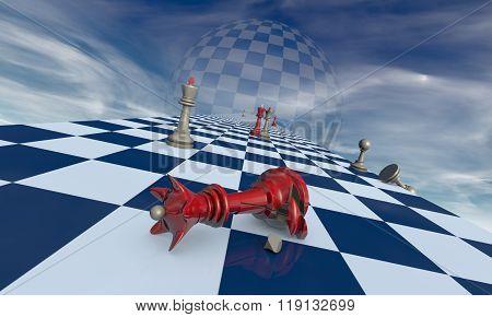 Family Drama (chess Metaphor)