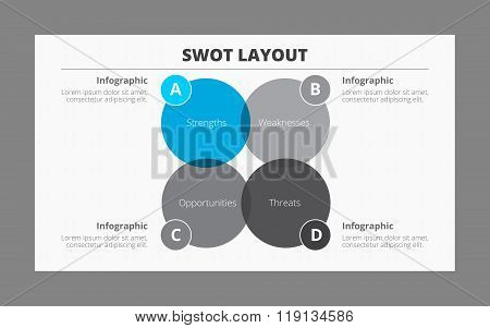 Infographic Template for Swot-Analysis