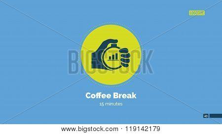 Coffee break slide