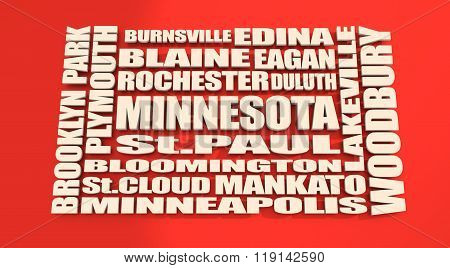 Minnesota State Cities List