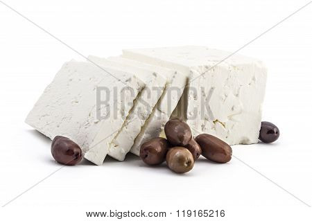 Fresh white cheese
