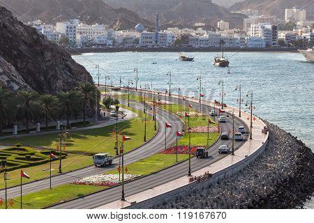 Corniche In Muttrah, Oman