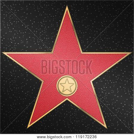 Star, classic, film, camera, vector