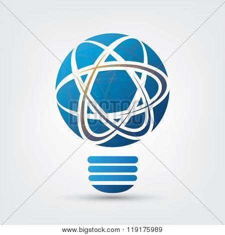 Bulb - Network, Atomic Energy Design Concept