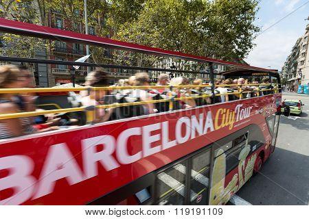 Turistic Bus in Barcelona