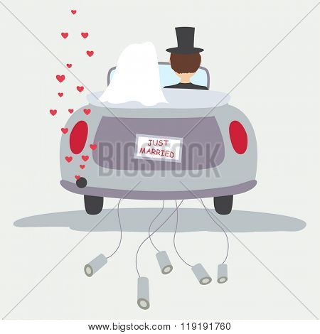 Just married,Vector