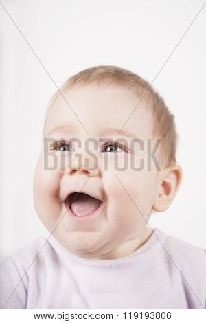 Baby Face Laughing