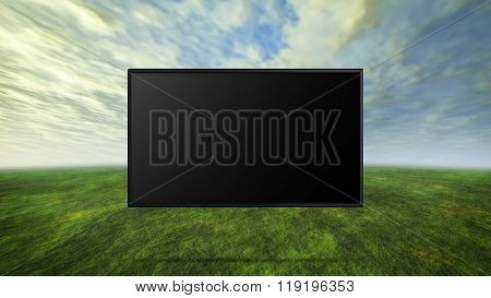Colorful Wild Concept Of Tv Black