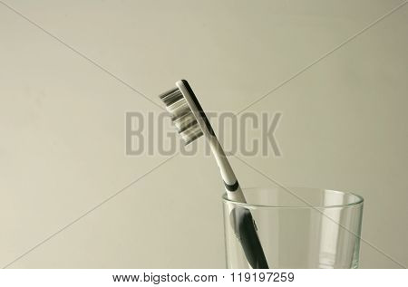 toothbrush in a glas