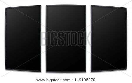 Vertical Perspective Screen Promotion Display